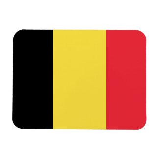 Flagga av den Belgien magneten Magnet