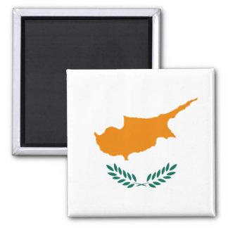 Flagga av den Cypern magneten Magnet