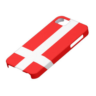Flagga av den Danmark iPhonen 5 fodral iPhone 5 Fodraler