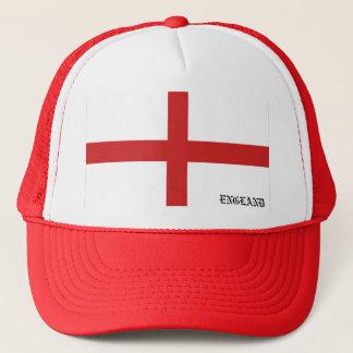 Flagga av den England hatten Truckerkeps