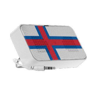 Flagga av den Faroe Island OrigAudio™ klotterspeak iPod Högtalare