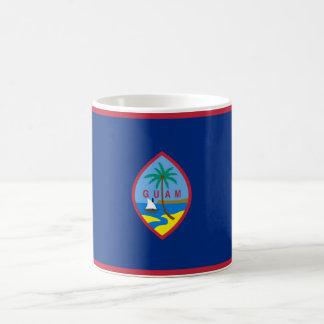 Flagga av den Guam muggen Kaffemugg
