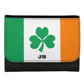 Flagga av den Irland shamrocken