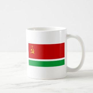 Flagga av den litauiska SSREN - Lietuvos TSR Kaffemugg