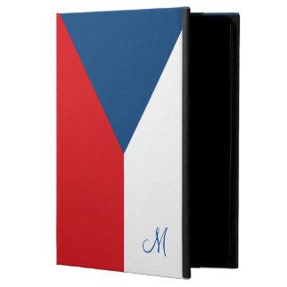 Flagga av den Monogrammed tjeckiska republiken Powis iPad Air 2 Skal
