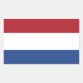 Flagga av den Nederländerna klistermärken
