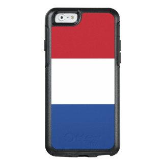 Flagga av den Nederländerna OtterBox iphone case