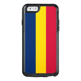 Flagga av den Tchad OtterBox iphone case