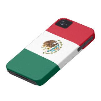 Flagga av det Mexico blackberry boldfodral Case-Mate iPhone 4 Fodraler