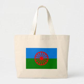 Flagga av det Romani folket - Romani flagga Jumbo Tygkasse