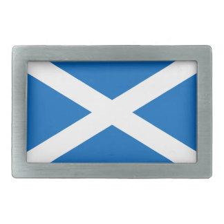 Flagga av det Skottland bältet spänner fast