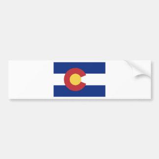Flagga av det statligt av Colorado Bildekal
