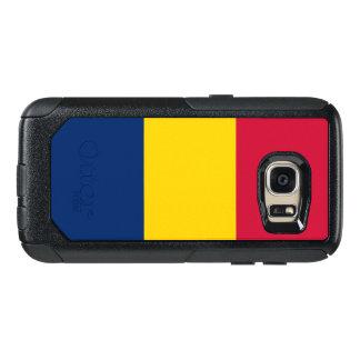 Flagga av det Tchad Samsung OtterBox fodral