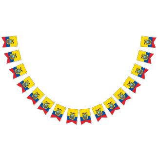 Flagga av Ecuador