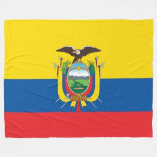 Flagga av Ecuador Fleecefilt