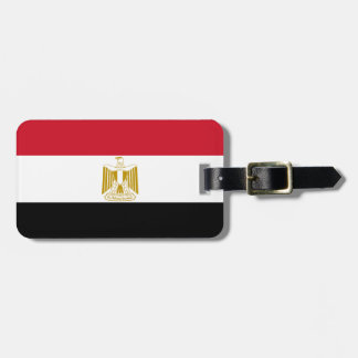 Flagga av egyptenen bagagebricka