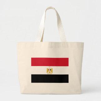 Flagga av egyptenen jumbo tygkasse