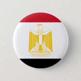 Flagga av egyptenen standard knapp rund 5.7 cm
