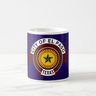 Flagga av El Paso Kaffemugg