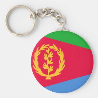 Flagga av Eritrea Rund Nyckelring