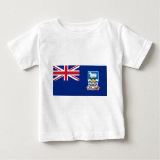 Flagga av Falklanden Islands - facklig jack T-shirt