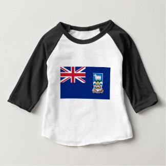 Flagga av Falklanden Islands - facklig jack T Shirts