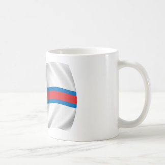 Flagga av Faroeen Island Kaffemugg