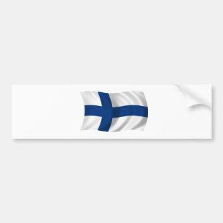 Flagga av Finland Bildekal