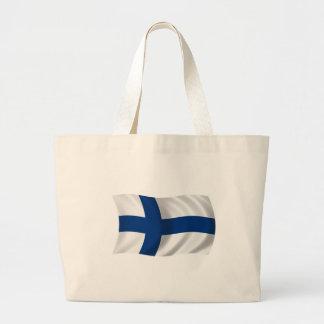 Flagga av Finland Jumbo Tygkasse