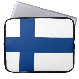 Flagga av Finland Laptop Sleeve