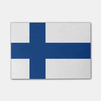Flagga av Finland Postar-it® noterar Post-it Lappar