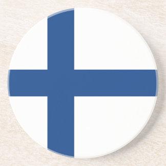 Flagga av Finland - Siniristilippu Underlägg