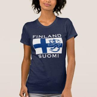 Flagga av Finland Tshirts