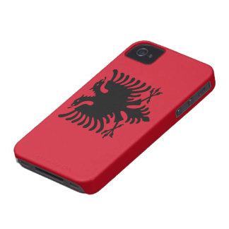 Flagga av fodral för albanien fodral kompis id ip