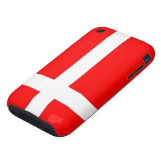 Flagga av fodral för Danmark iPhone 3G/3GS