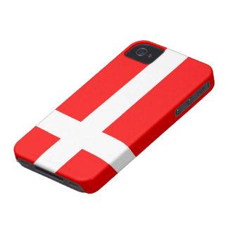 Flagga av fodral för Danmark iPhone 4/4S Case-Mate iPhone 4 Fodral