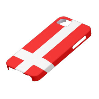 Flagga av fodral för Danmark iPhone 5 iPhone 5 Case-Mate Skydd