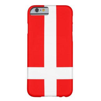 Flagga av fodral för Danmark iPhone 6 Barely There iPhone 6 Skal