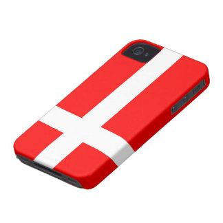 Flagga av fodral för iPhone 4/4S för Danmark iPhone 4 Hud