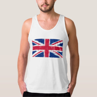 Flagga av Förenade kungariket eller den fackliga Tanktop