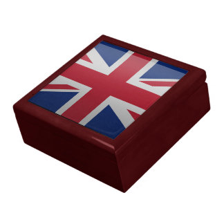 Flagga av Förenade kungariket Presentskrin