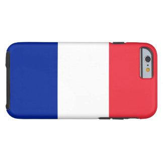 Flagga av frankriken tough iPhone 6 fodral