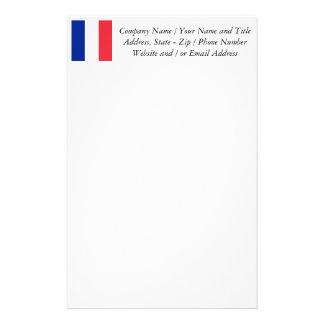 Flagga av frankriken, Tricolour medborgareflagga Brevpapper