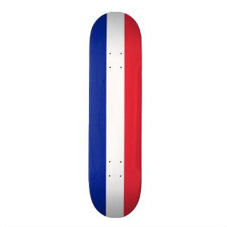 Flagga av frankrikeSkateboarddäcket Old School Skateboard Bräda 18 Cm