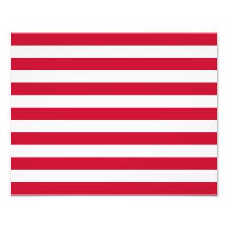 Flagga av går fototryck