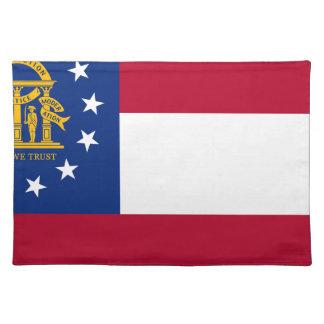 Flagga av Georgia Bordstablett