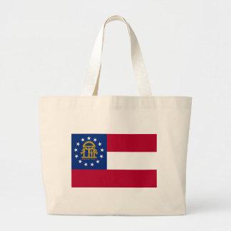 Flagga av Georgia Jumbo Tygkasse