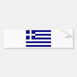 Flagga av Grekland Bildekal