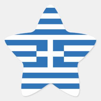 Flagga av Grekland Klistermärken