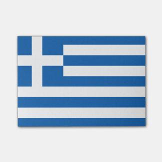 Flagga av Grekland Postar-it® noterar Post-it Lappar